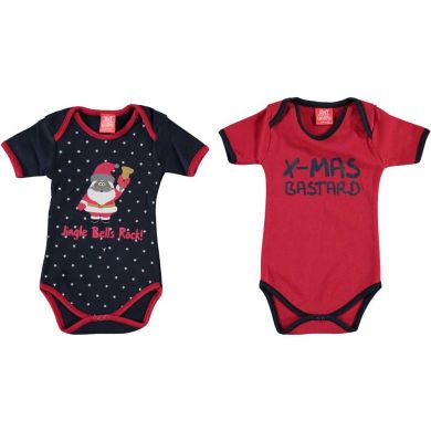 "Body bébé ""Jingle Bells Rock!"" (lot de 2)"