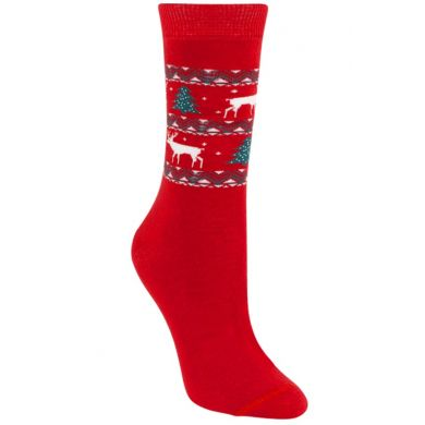 "Chaussettes de Noël ""Cosy Christmas Red"""